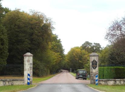Les pavillons d'entrée : château de Chambord