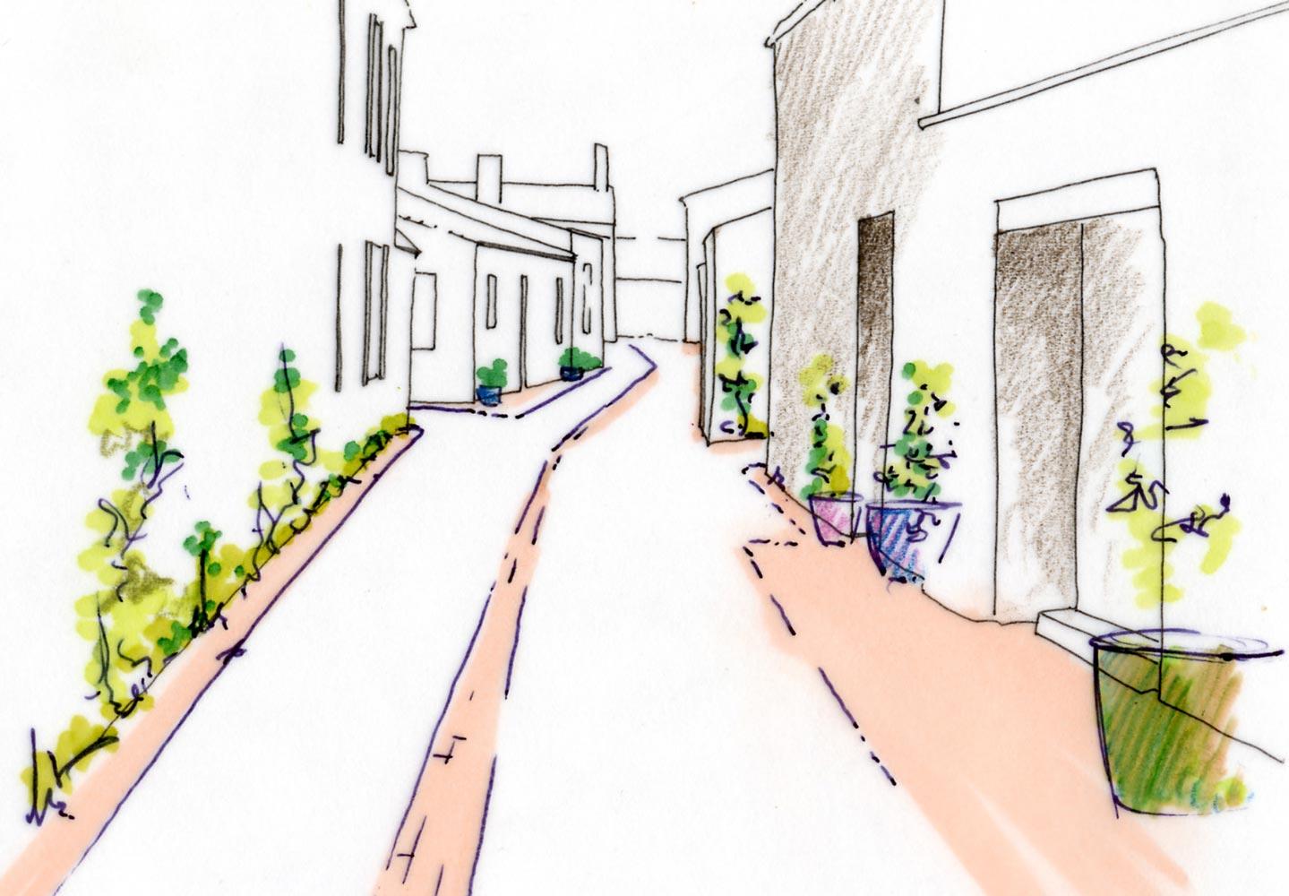 Etude paysagere et urbain thierry jourd 39 heuil architecte for Etude paysagiste