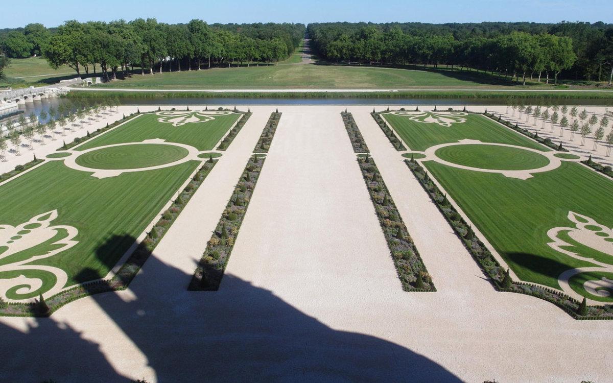 Perspective Jardin à la française