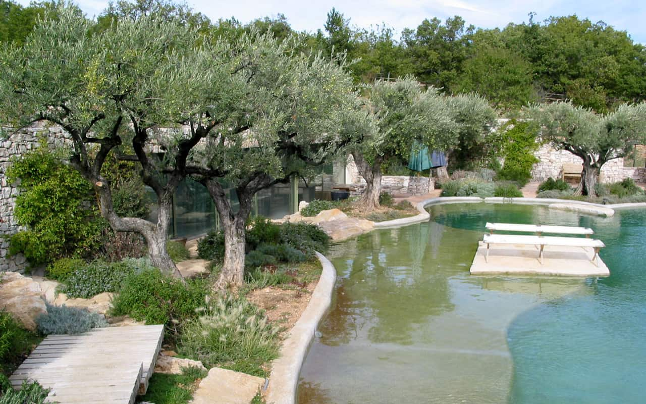 Jardin dans le Luberon